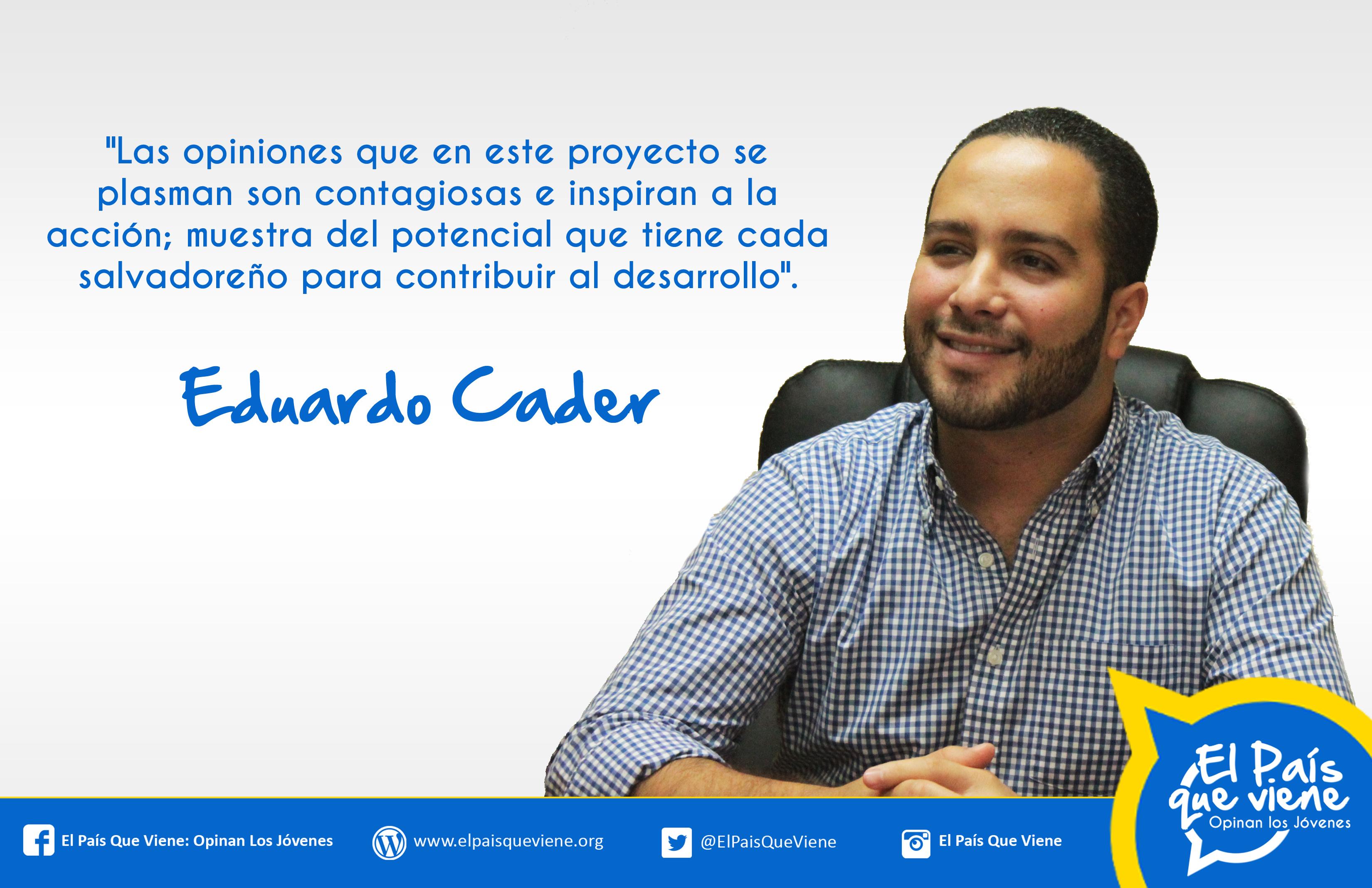 Eduardo Cader